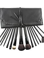15 Makeup Brushes Set Nylon Professional / Portable Plastic Face / Eye / Lip