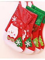 Super adorable cartoon sequins dress Christmas gifts Christmas stocking medium gift bag gift bag wholesale