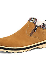 Men's Boots Spring Fall Winter Comfort Suede Outdoor Casual Athletic Flat Heel Lace-up Black Blue Yellow Other