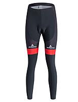 ספורטיבי מכנסי רכיבה לנשיםנושם / שמור על חום הגוף / ייבוש מהיר / עמיד / בטנת פליז / חדירות גבוהה לאוויר (מעל 15,000 גרם) / דחיסה / 3D לוח