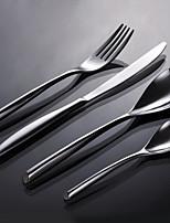 Нержавеющая сталь 304 Столовая вилка / Столовый нож / Поварешка для подлива / Оригинальная ложка / палочки для еды Ложки / Вилки / Ножи4