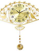 Модерн Домики Настенные часы,Новинки Железо 62*64cm В помещении Часы