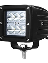 exLED 18w LED Spot Fog Driving Trail Light for Off Road Bar Jeep Truck