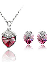 Thousands of colors  Jewelry Necklaces / Earrings Jewelry set Crystal Fashion Daily 1set Women  -9-1-1-2062-006