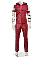 Cosplay Costumes Super Heroes / Bat / Spider / Soldier/Warrior / Movie/TV Theme Costumes Movie Cosplay Red SolidVest / Pants / Hats /