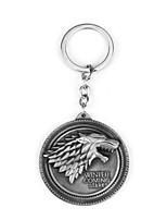 Stark Badge Metal Key Ring Auto Parts