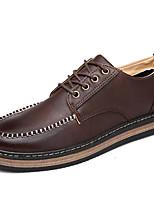 zapatillas de deporte de los hombres de primavera y verano otoño invierno tobillo correa de cuero ocasional con cordones