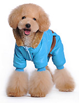 Dog Hoodie Blue / Pink Dog Clothes Winter Britsh Sports / Fashion / Casual/Daily /