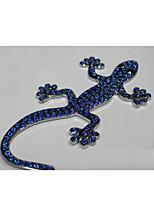Diamond Gecko Car Stickers 3D Stereoscopic Refuge RefugeA Pack of 2