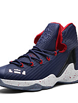 Unisex Athletic Shoes Spring Summer Fall Winter Comfort Novelty PU Office & Career Casual Athletic Flat Heel Lace-upBlack Blue Red Black