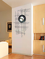 Modern/Contemporary Houses Wall ClockOthers Acrylic / Metal 50*80cm Indoor Clock
