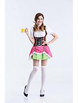 Costumes de Cosplay / Costume de Soirée Tenus de Servante / Fête d'Octobre/Bière Fête / Célébration Déguisement Halloween Incarnadin