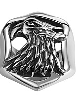 Ring Jewelry Stainless Steel Steel Fashion Black Jewelry Halloween Daily 1pc