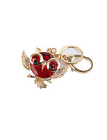 Creative Car Accessories Key Ring (Note KC Gold Red)