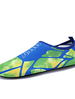 Unisex Athletic Shoes Spring Summer Fall Comfort Jelly Shoes Fabric Outdoor Athletic Flat Heel Blue Green Pink GrayFitness & Cross