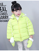 Girl's Casual/Daily Solid Suit & Blazer,Polyester Winter Green / Pink / Red