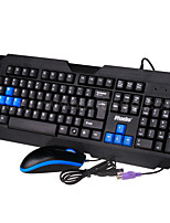 Keyboard Cable Suit Wired Ps2 Keyboard Usb Mouse