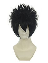 Goblin's tail Gray / Naruto Shippuke Sasuke Wigs high-temperature silk COS wig