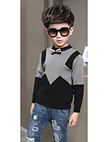 Boy's Casual/Daily Solid Sweater & CardiganWool Winter / Spring / Fall Black / Brown