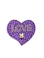 Size 40.5*36*4.8cm Deep Purple  The Roses Gift Box