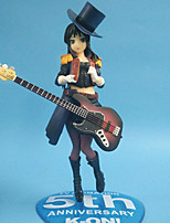 Cosplay Mio Akiyama PVC 22cm Anime Action Figures Model Toys Doll Toy