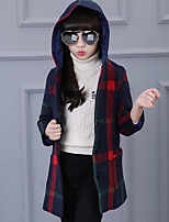Girl Casual/Daily Striped Down & Cotton Padded,Cotton Winter / Fall Long Sleeve
