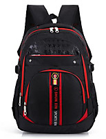 Women Oxford Cloth / Nylon Casual Backpack Red