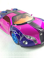 Action Figure / Play Vehicles Model & Building Toy Car Metal Yellow / Purple / Orange For Boys Above 3