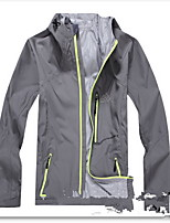 Hiking Softshell Jacket Men's Waterproof / Breathable / Quick Dry / Windproof Summer / Fall/Red / Gray / Black / Blue /