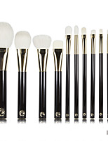 11 Makeup Brushes Set Goat Hair / Synthetic Hair Professional Plastic Face / Lip ENERGY