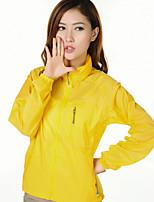 Wandern Kleidung für den Sonnenschutz Damen Wasserdicht / Rasche Trocknung / UV-resistant / Anti-Ausrottung Frühling / Sommer TerylenGelb