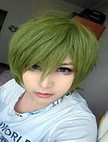 32cm verde papel anime corto Kuroko no Basuke Midorima Shintaro peluca cosplay
