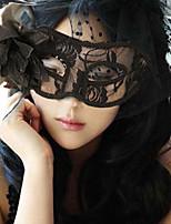 1pc laterali fiori di seta del germoglio maschera per Halloween festa in costume colore casuale