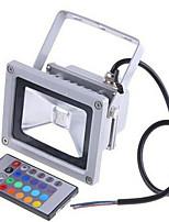 2200lm 85-265V / 12-24v 20w lampe infrarouge rgb coloré de contrôle à distance du paysage