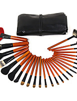 26 Makeup Brushes Set Goat Hair Professional / Portable Wood Face/Eye / Lip