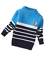Boy's Casual/Daily Color Block Sweater & CardiganCashmere / Wool Winter / Spring / Fall Blue / Red / Yellow