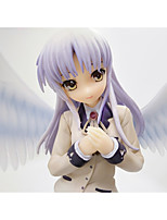 Angel Beats PVC 22cm Anime Action Figures Model Toys Doll Toy 1pc