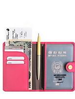 Voyage Etui à Passeport & Pièce d'Identité Rangement de Voyage Etanche / Résistant à la poussière / Portable Cuir PU