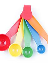 1шт случайный цвет оригинала ультрамодный кухня предметы домашнего обихода измерительной кухни артефакт ложка