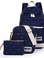 Women Casual Bag Sets Canvas