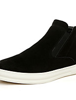 Men's Loafers & Slip-Ons Spring / Summer / Fall / Winter Comfort PU Casual Flat Heel Others Black Others