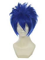 Vocaloid Kaito mistogai синий универсальный возвышающиеся короткий Хэллоуин парики синтетические парики Карнавальные парики