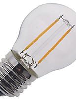 2W E26/E27 Lâmpada Redonda LED A50 2 COB 240 lm Branco Quente / Branco Frio Decorativa V 1 pç
