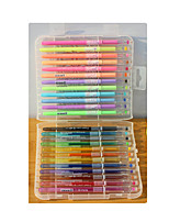 24 color diamond stone color flash pen