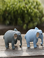 Moss Micro-Landscape Decorative Decoration Mini Elephant Decoration DIY Material Color Random