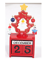 деревянного календаря поделок Рождественская елка статьи обеспечения