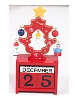 The Wooden Calendar DIY Christmas Tree Furnishing Articles