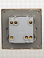 настенный выключатель панель большой панели выключатель питания белый два открытых двойной переключатель управления