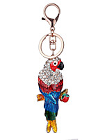Europe And The United States New Realistic Key Chain Parrot  Key Chain Bag Car Key Pendant Valentine's Day Gift Factory Direct Sales