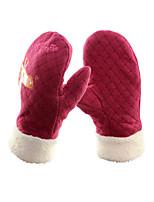 lyžařské rukavice Zimní rukavice / Rukavice Děti / Vše Akvitita a sport Zahřívací / Odolný vůči větru Lyže / Snowboard / Motorka Fleece